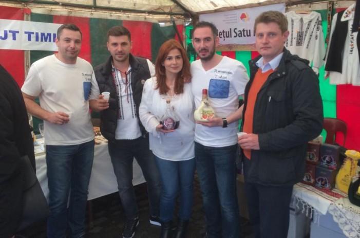 """Produsele Distileriilor Bran, prezentate la Festivalul """"Primăvara Românească la Bruxelles"""""""