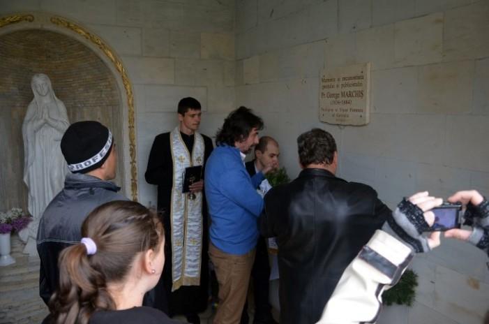 Comemorare George Marchiș la Carei