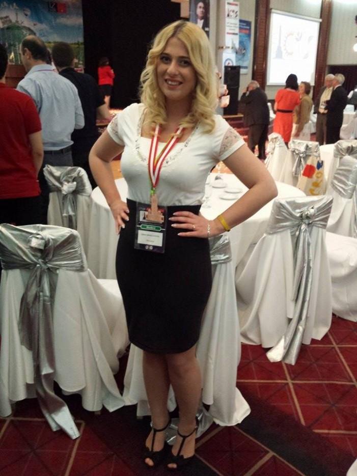 Carina Petric, medaliată cu bronz la Conferința Internațională a Tinerilor Cercetători