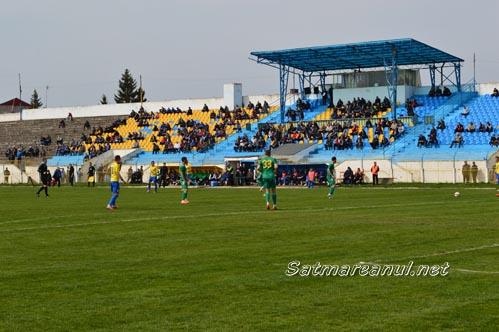 Olimpia Satu Mare pierde cu 2-4, în fața CS Mioveni
