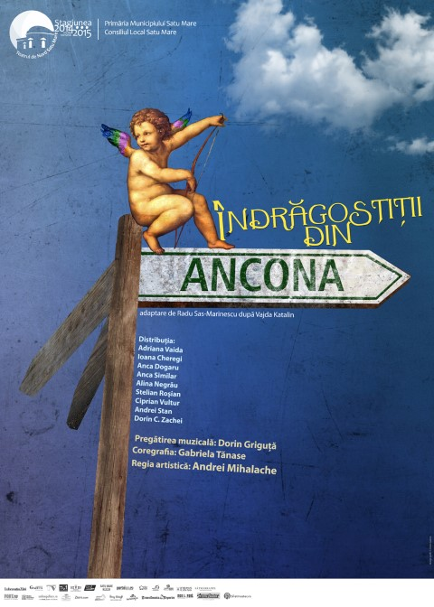 """""""Îndrăgostiții din Ancona"""", pe scena Casei de Cultură a Sindicatelor"""