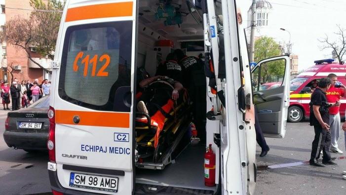 Accident cu un rănit, în afara orașului Livada