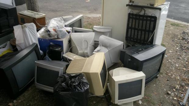 Acțiune de colectare a deșeurilor electrice în Porumbești