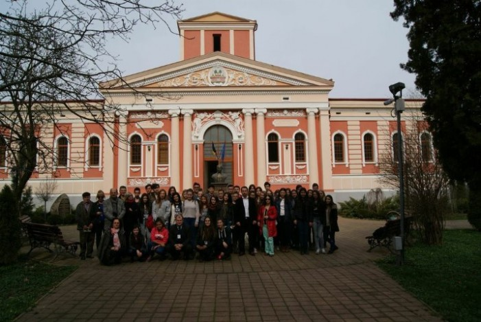Elevi din Turcia, în vizită la Liceul Teoretic German