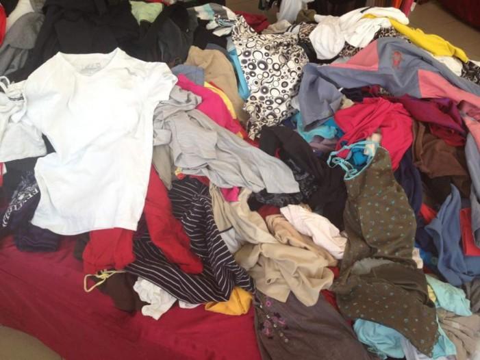 Acțiune de colectare a hainelor vechi