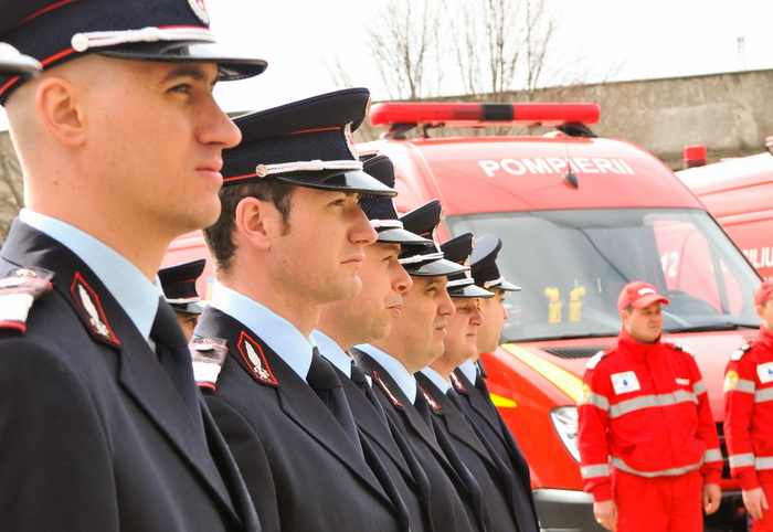ISU recrutează candidați pentru școlile de pompieri