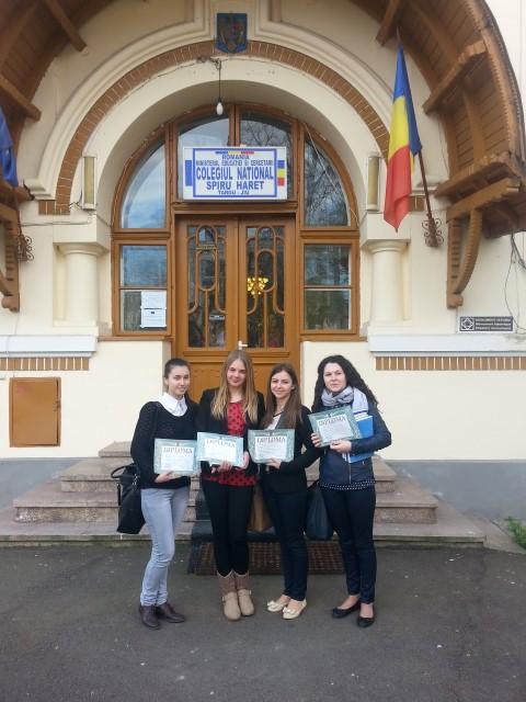 """Elevele Colegiului """"Ioan Slavici"""" au excelat la Olimpiada Națională de Pedagogie-Psihologie"""