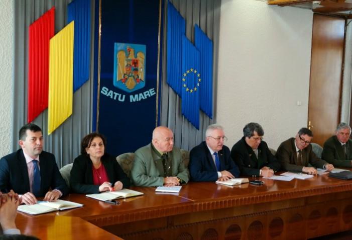 Pădurile din Oaș în atenția Comisiei județene de fond funciar