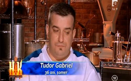 """Sătmăreanul Gabriel Tudor scos cu bodyguarzi de la """"Hell's Kitchen"""""""