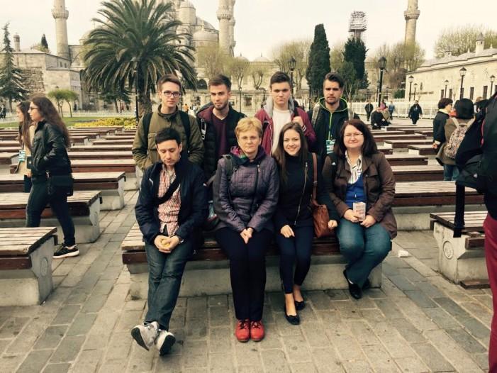 Elevi și profesori de la Liceul German, în vizită în Turcia