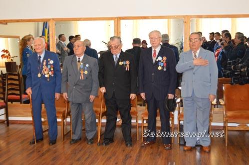 Veteranii de război, omagiați la Cercul Militar Satu Mare (Galerie foto)