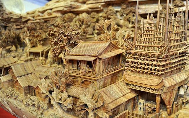 Fabuloasa sculptură ce redă istoria dinastiei Song (Foto)