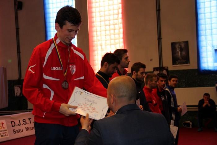 Spadasinul Adrian Pop de la CSM Satu Mare, vicecampion național