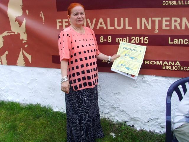 """Dascăl din Satu Mare, premiat în cadrul Festivalului Internațional """"Lucian Blaga"""""""