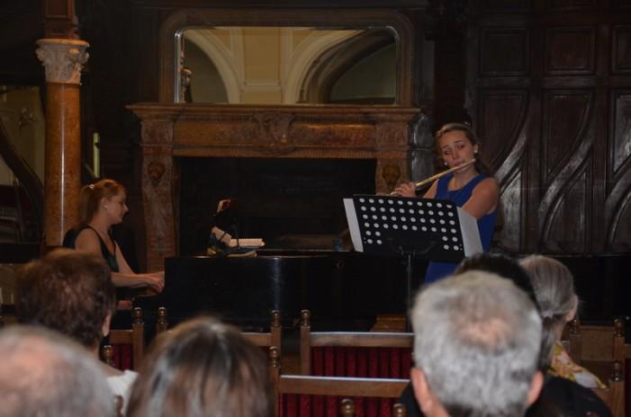 Concert de flaut și pian la Carei