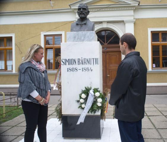 Comemorare Simion Bărnuțiu la Carei