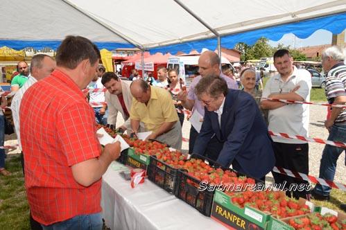 """Halmeu: """"Festivalul căpșunilor"""", la a XVI-a ediție (Galerie foto)"""