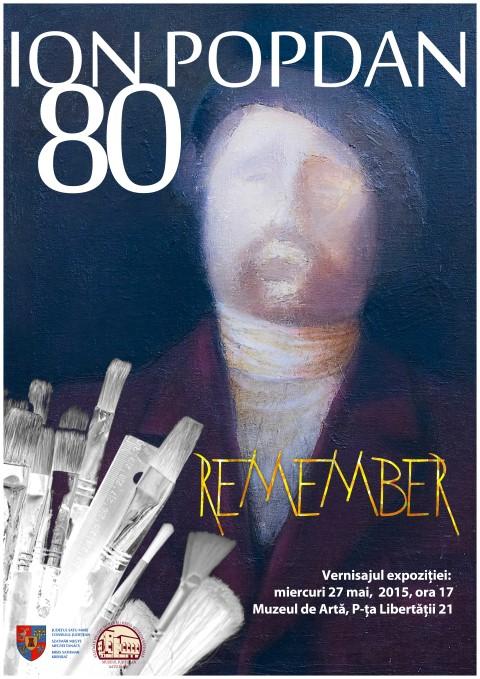 """Expoziție la Muzeul de Artă: """"Ion Popdan 80-Remember"""""""
