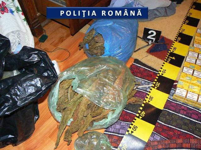 Mascații au dat iama în casele traficanților de țigări din Tășnad