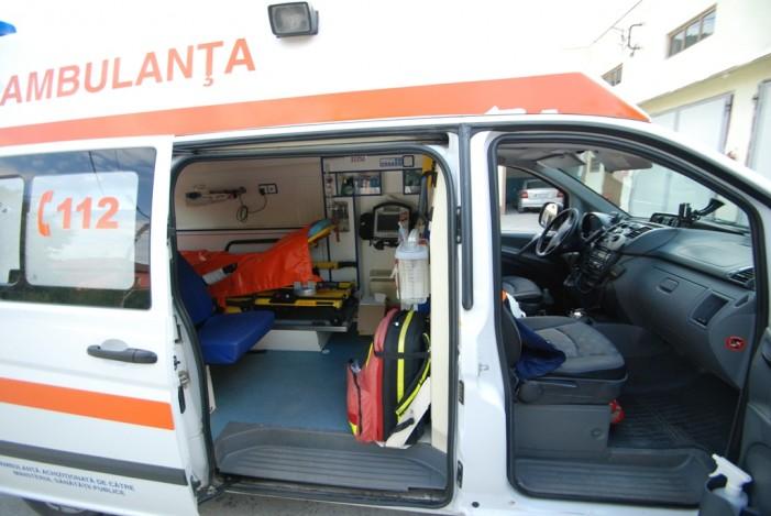 Accident la intrarea în Cionchești: Victima a refuzat transportul la spital