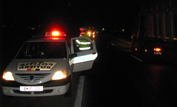 Șofer beat criță, a lovit o mașină parcată