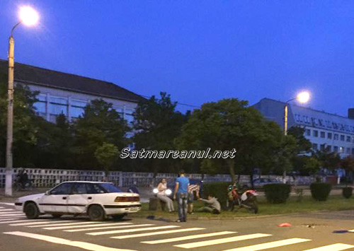 Accident pe bulevardul Cloșca (foto)
