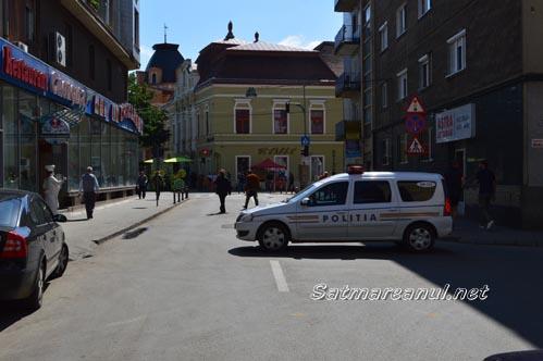 """S-a închis circulația în zona centrală, de """"Zilele Orașului Satu Mare"""""""