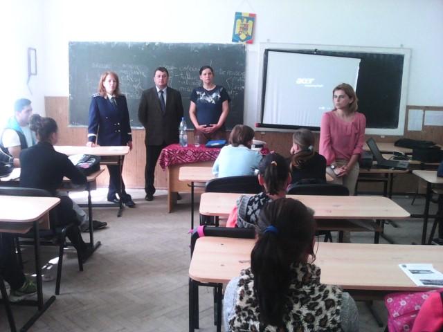"""Campania """"O zi în școala ta!"""" a ajuns și la Liceul Tehnologic din Ardud"""