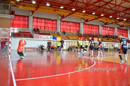 Handbal: CSM Satu Mare-AH Minaur Baia Mare 40-30