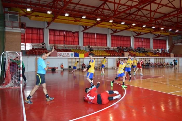Handbal: CSM Satu Mare-Național Sighișoara 50-41