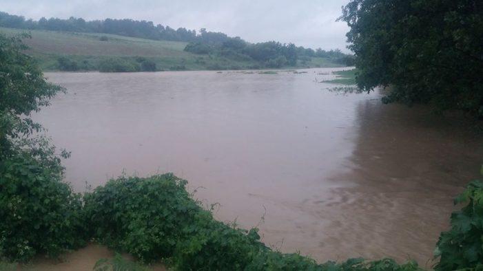 Cod galben de inundații pe râurile Crasna și Tur