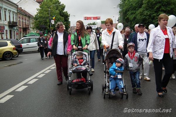 """Sătmărenii sunt așteptați la """"Maratonul de solidaritate"""""""