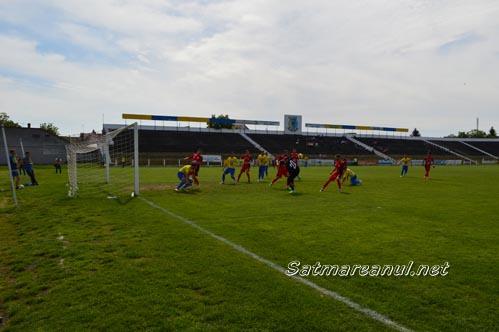 Olimpia Satu Mare-CS Metalul Reșița 1-1