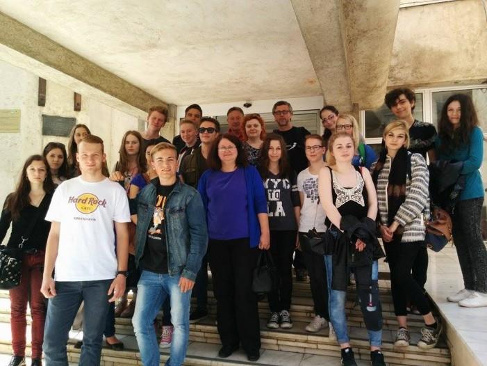 Elevi și profesori din Germania, în vizită la Satu Mare