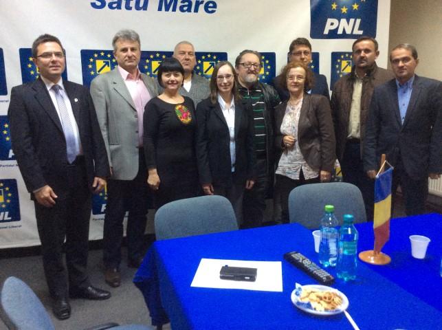 Consilierul politic al Ambasadei SUA s-a întâlnit cu conducerea PNL Satu Mare