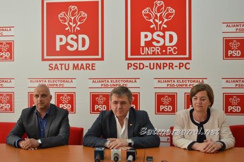 Social-democrații sătmăreni îl susțin pe Liviu Dragnea