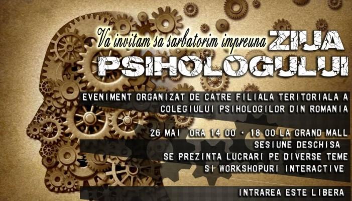 """Ziua psihologului"", la Grand Mall Satu Mare"