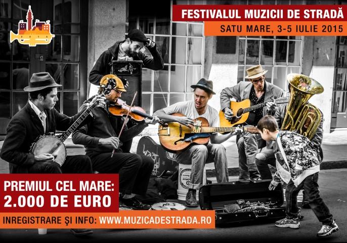 """""""Festivalul Muzicii de Stradă"""" pune la bătaie 2.000 de euro pentru muzicieni"""