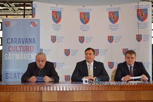 """A fost lansată """"Caravana Culturii Sătmărene"""", ediția 2015"""