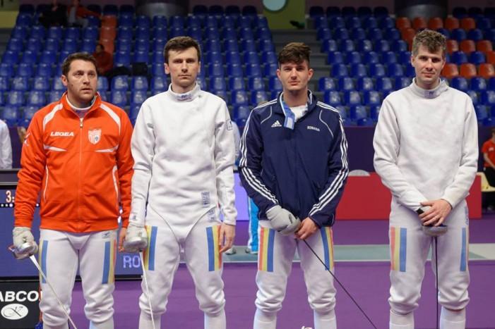 România a ocupat locul 16 la etapa de Cupă Mondială la spadă seniori masculin de la Paris (Galerie foto)