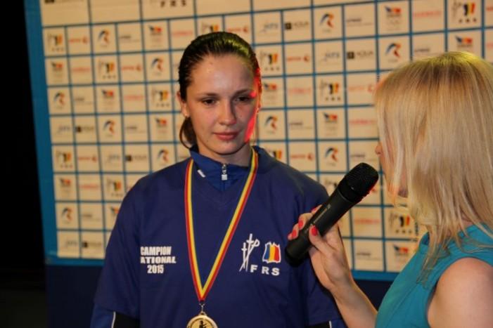 Sătmăreanca Simona Pop, campioana României la spadă feminin ! (Galerie foto)