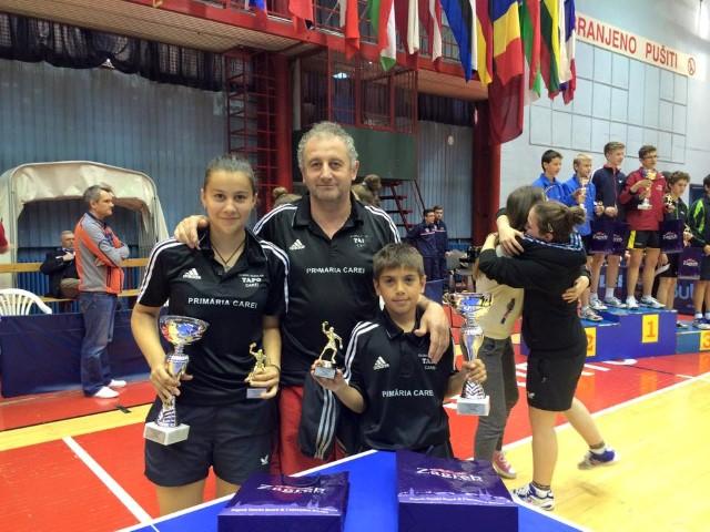 Sportivi careieni medaliați la Zagreb