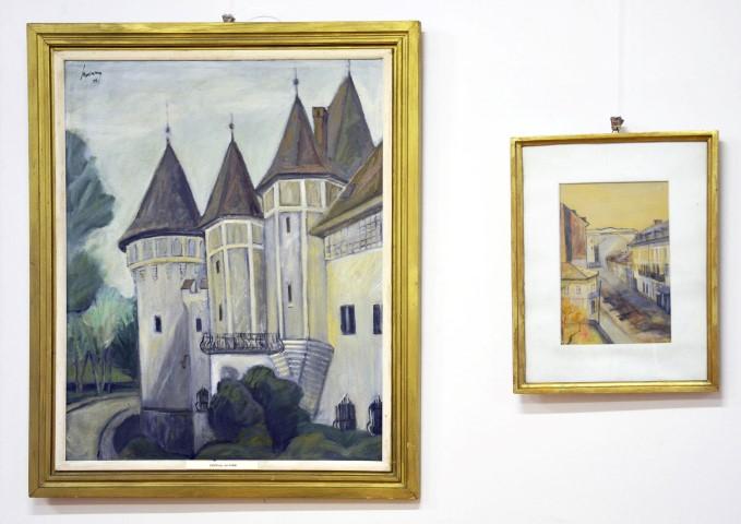 Expoziție de pictură și desen la Castelul din Carei