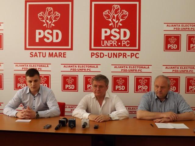 Social-democrații sătmăreni îl susțin pe premierul Victor Ponta