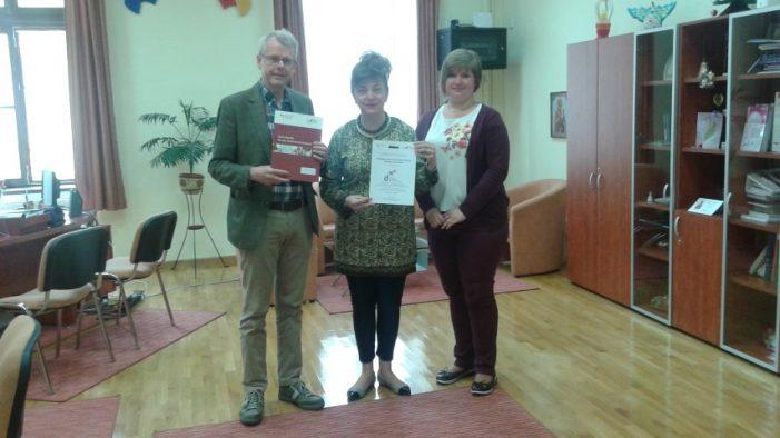 """Colegiul Naţional """"Doamna Stanca"""", acreditat ca centru de competenţe lingvistice pentru limba germană"""