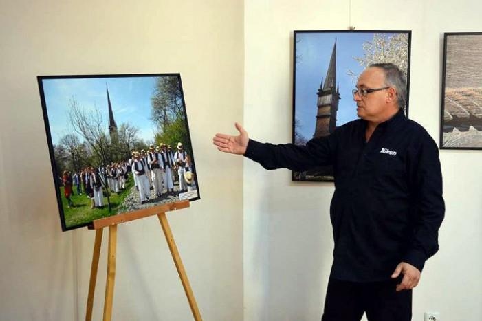 Expoziție foto a artistului băimărean Ilie Tudorel, la Carei