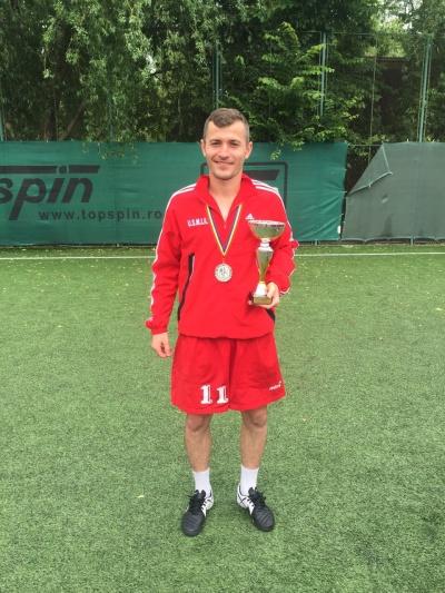 Călin Vădan s-a clasat pe locul II cu echipa MAI la Campionatul Balcanic de Fotbal