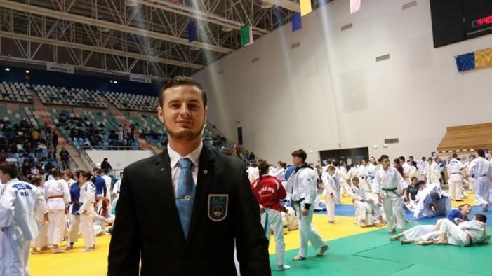 VASILE FUȘLE JR. va arbitra la CAMPIONATUL EUROPEAN de judo pentru cadeți din BULGARIA