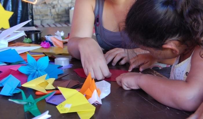 Ateliere de origami și cercuri de Limba engleză la Biblioteca Județeană Satu Mare