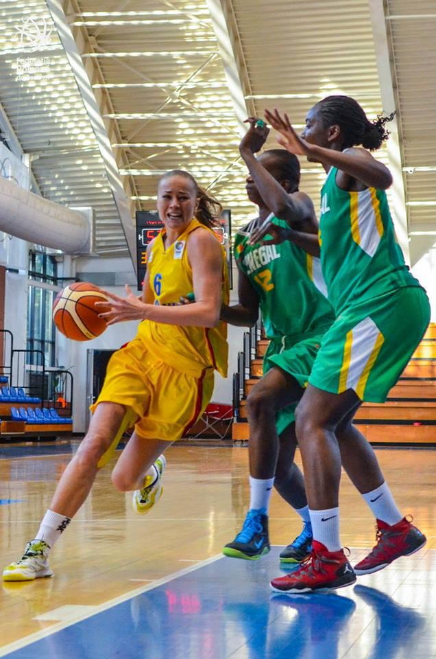 Eurobasket: Sătmăreanca Claudia Pop, cea mai bună marcatoare a României în duelul cu Ucraina